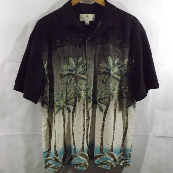 d8f5b6d3 Island Shores Shirts | Mens Button Down Shirt Hawaiian L | Poshmark
